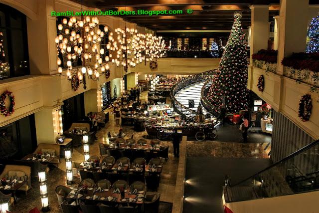 Restaurant, Hotel Sofitel Philippine Plaza Manila, Philippines
