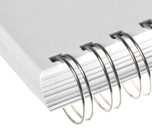 detalhes co acabamento de wire o - O que é encadernação com Wire-O?