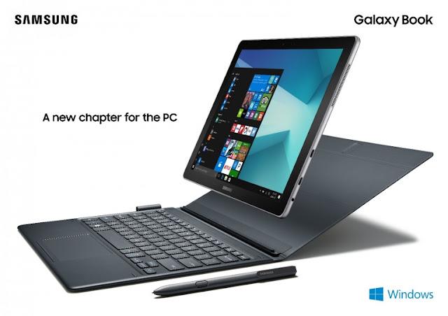 فعاليات مؤتمر MWC 2017 | سامسوج تكشف رسمياً عن الحاسب اللوحي Samsung Galaxy Book بويندوز 10
