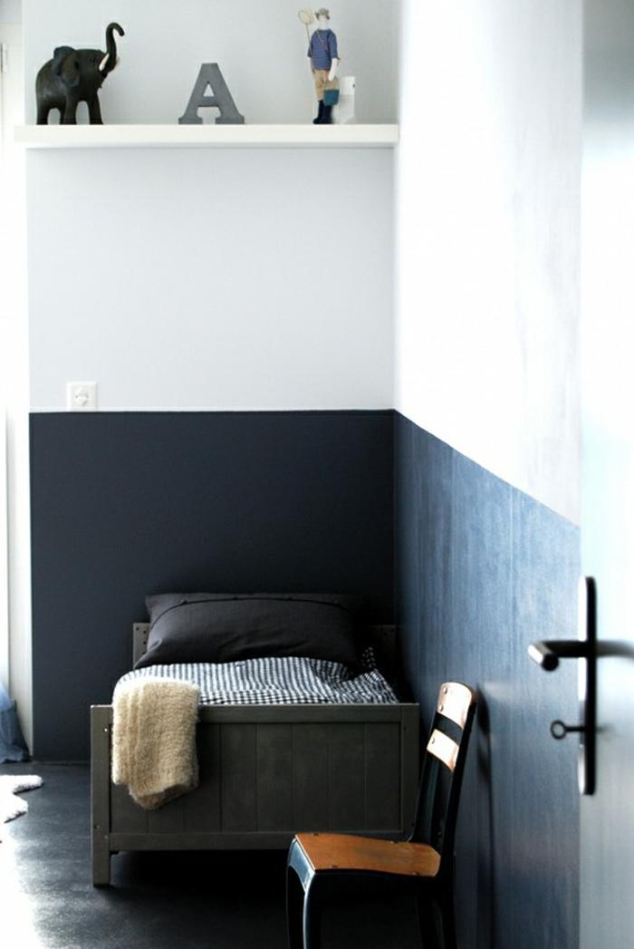 Blue Half Painted Walls in children\u0027s rooms & Rafa-kids : Blue Half Painted Walls in children\u0027s rooms