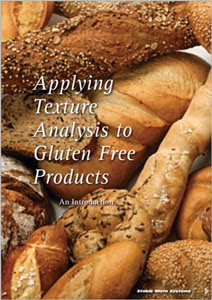 'Applying Texture Analysis to Gluten Free Products'