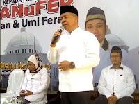 <b>Terima Mandat PKS, Aji Man: Penantian Panjang, Rasa Khawatir, Terjawab Hari Ini</b>