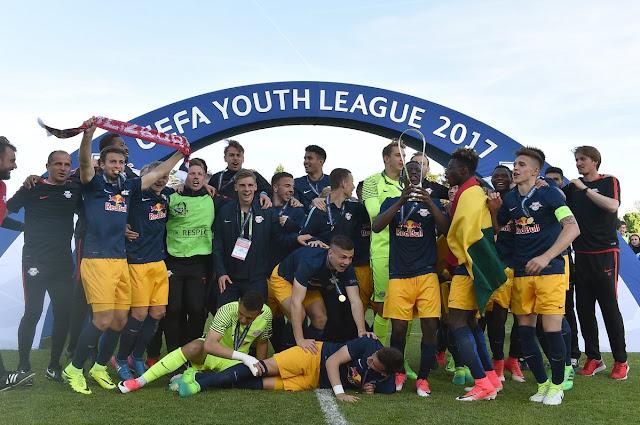 Red Bull é campeão da Youth Legue, após campanha fulminante
