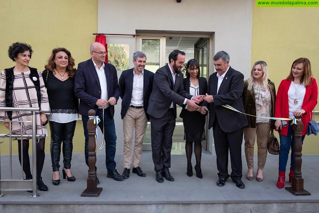 Tijarafe inaugura un nuevo centro de día para 26 mayores, financiado en el II Plan de Infraestructuras