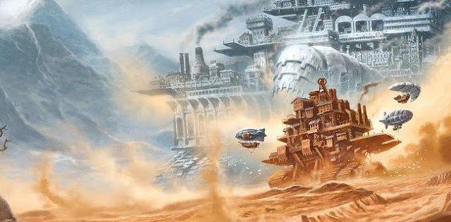 What is the meaning of 'Mortal Engines' title?