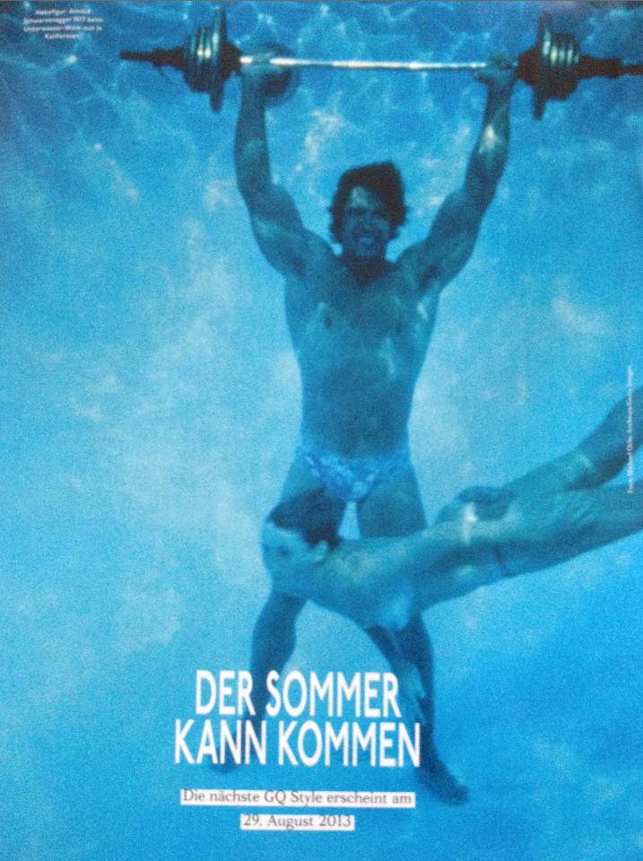 Gay men underwater