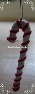 crochet xmas tree decoration