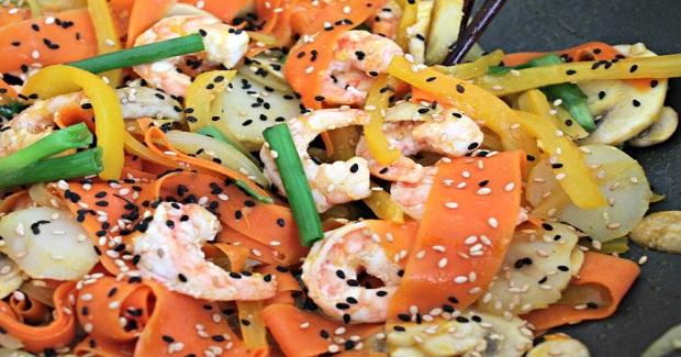 Orange Ginger Shrimp Stir-Fry Recipe