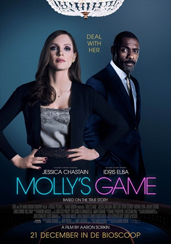 Mollys Game 2017 English 480p WEB-DL 400MB ESubs