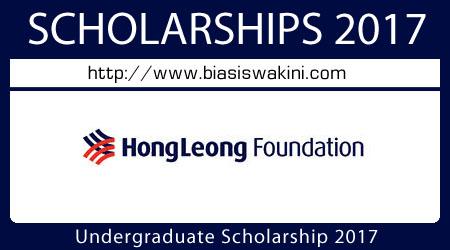 Undergraduate Scholarship 2017