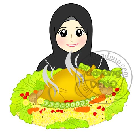 Doodle Dan Nasi Arab