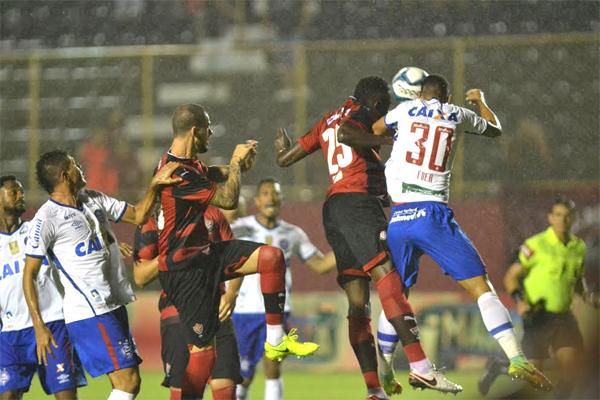 O Vitória BA saiu na frente do rival Bahia BA pela vaga na grande final da  Copa do Nordeste 2017. Na noite desta quinta-feira (27) 9550612958944
