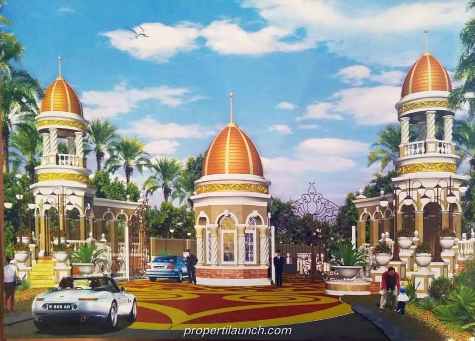 Gate Cluster Angel Residence Kalideres Jakarta