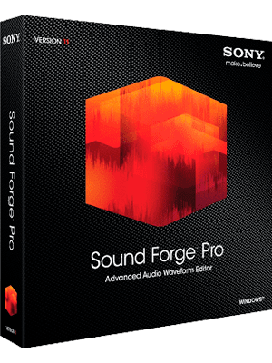Sony Sound Forge Pro box