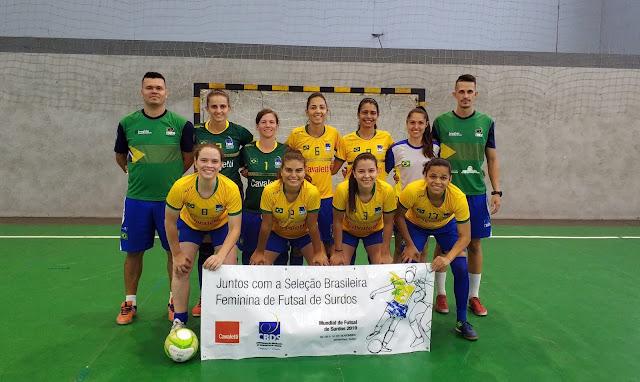 Seleção Brasileira de Surdas treina para competição na Suiça