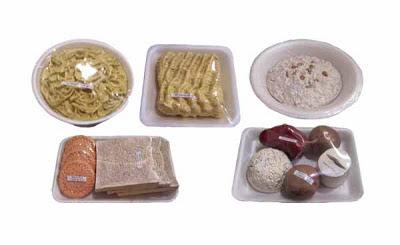 Replika makanan sumber penghasil karbohidrat