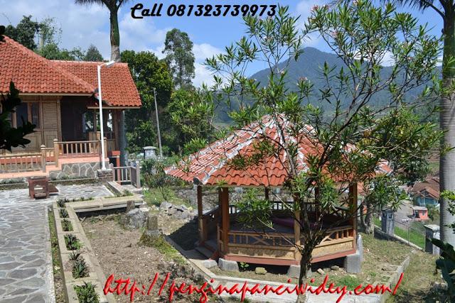 Booking villa di area wisata kawah putih dari cilacap