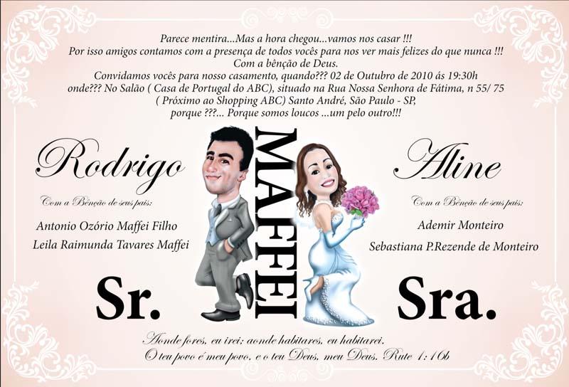 Frases De Convites De Casamento Engraçadas Imagui