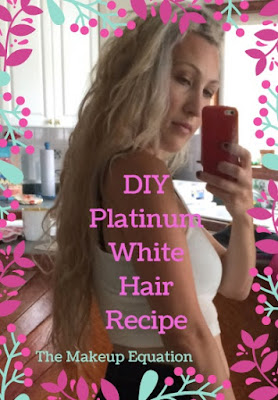 DIY Platinum White Hair Recipe