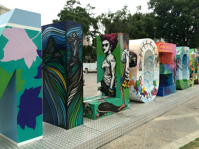 grafite Cidade Olímpica Praça Mauá RJ