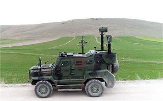 Kendaraan Pengawasan Perbatasan ATES Buatan Aselsan