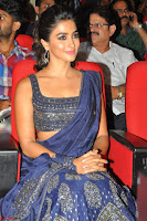 Pooja Hegde choli saree at DJ Duvvada Jaggannadham music launch ~  Exclusive 14.jpg