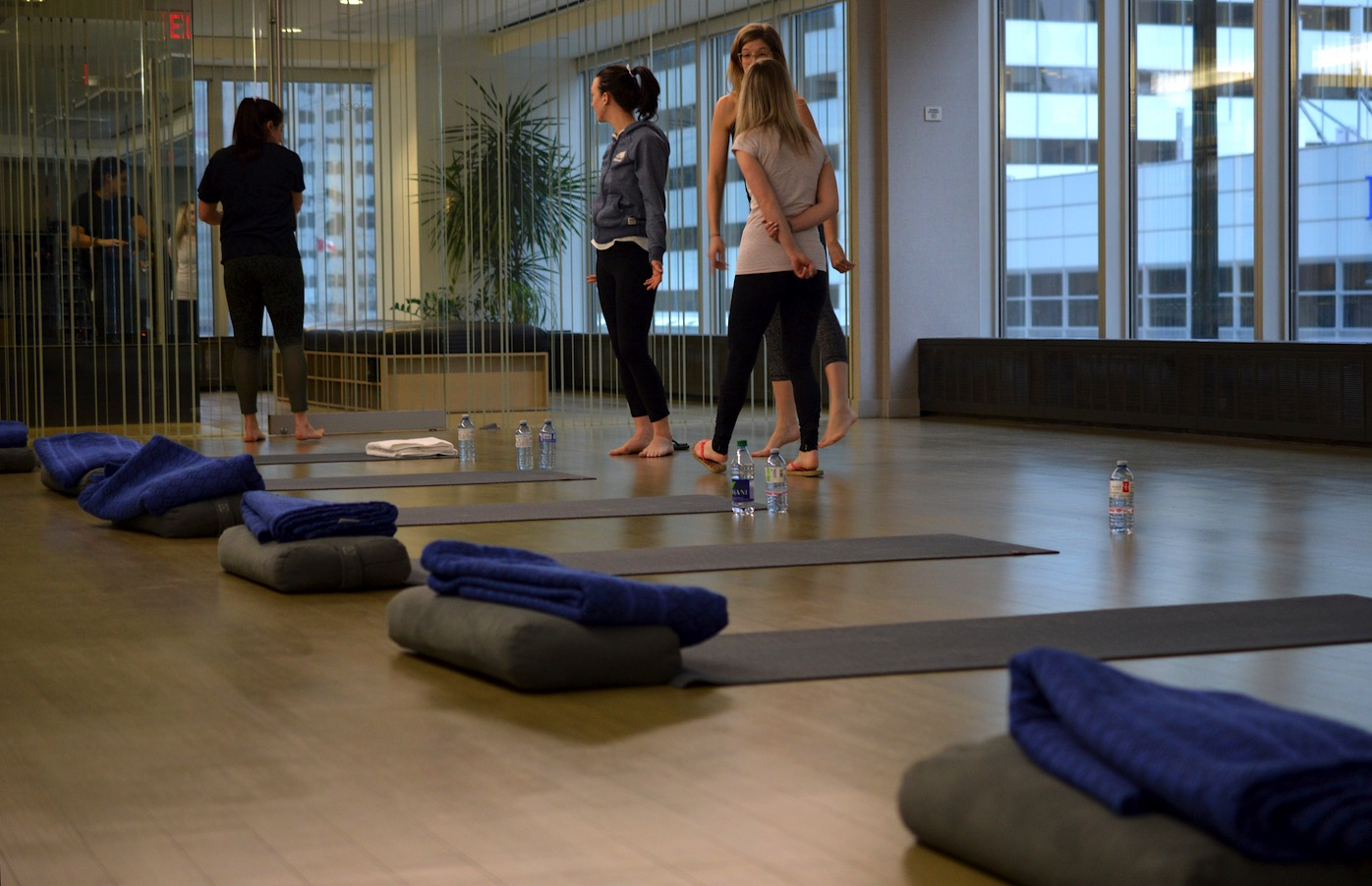 Equinox Yoga Class