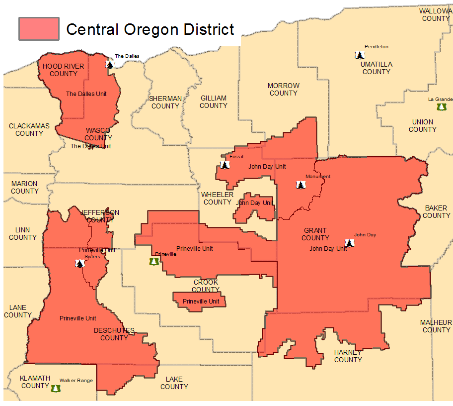 Oregon Department of Forestry - Central Oregon District: 2017