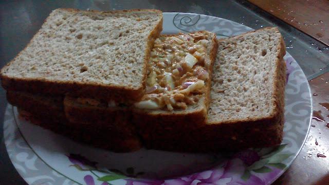Supper Tuna Sandwich