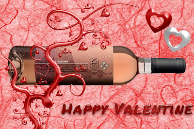 Wine for Valentine 's Day