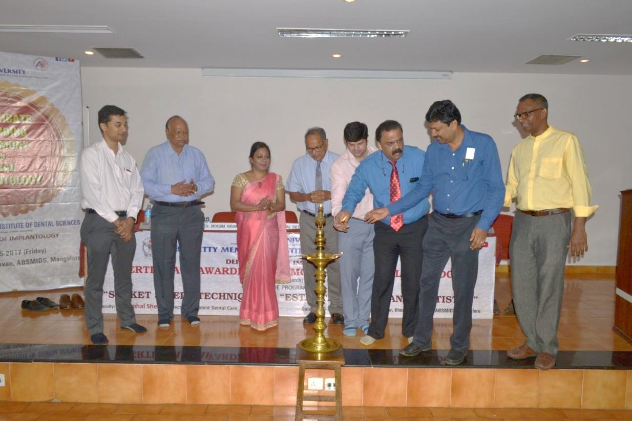 Certificate Awarding Ceremony And Cde Programme On Socket Shield