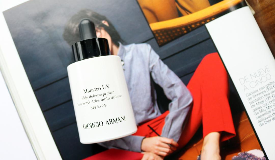 Giorgio Armani Maestro UV Skin Defense Primer SPF 50 PA+++