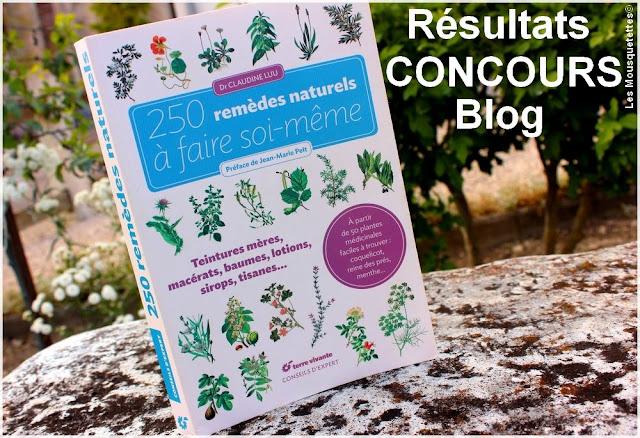 Résultats concours Terre Vivante - Blog beauté Les Mousquetettes©