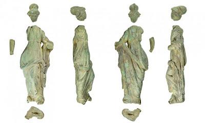 Ξεχασμένο αγαλματίδιο σε συσκευασία βουτύρου αποδείχθηκε αρχαιολογικός θησαυρός 2.000 ετών