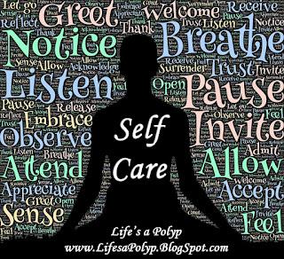 meditation self care life's a polyp