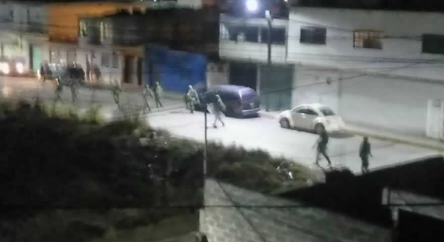 Militares se enfrentan vs Huachicoleros
