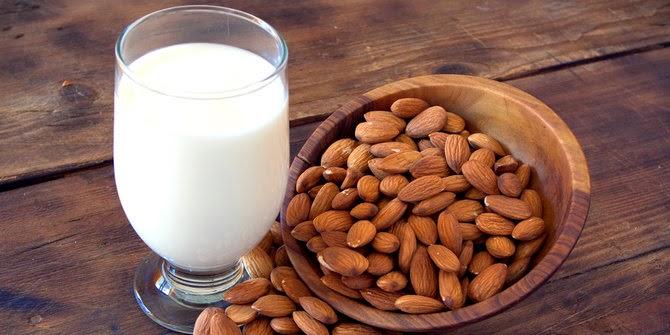 manfaat susu almond untuk ibu hamil