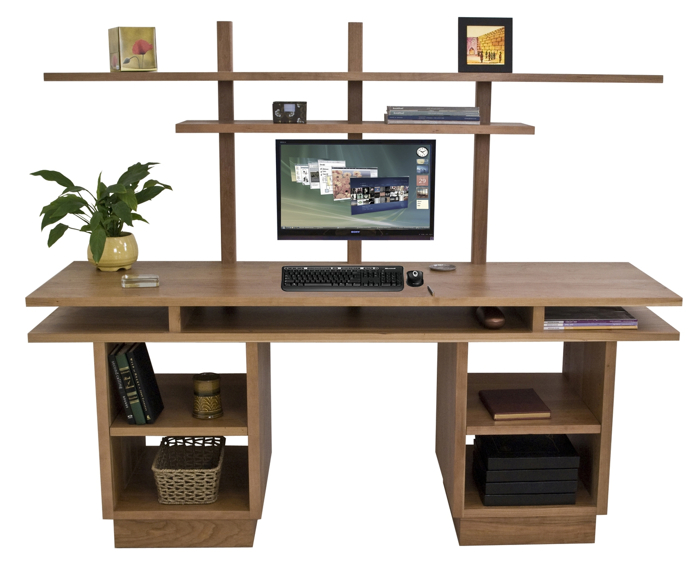 Office Interior: modern home office furniture