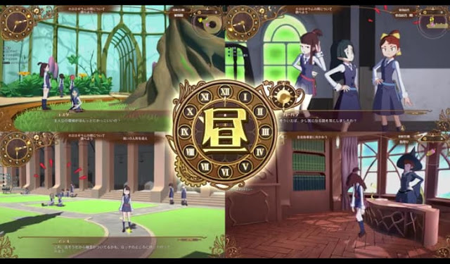 Little Witch Academia: Chamber of Time Screenshot-1