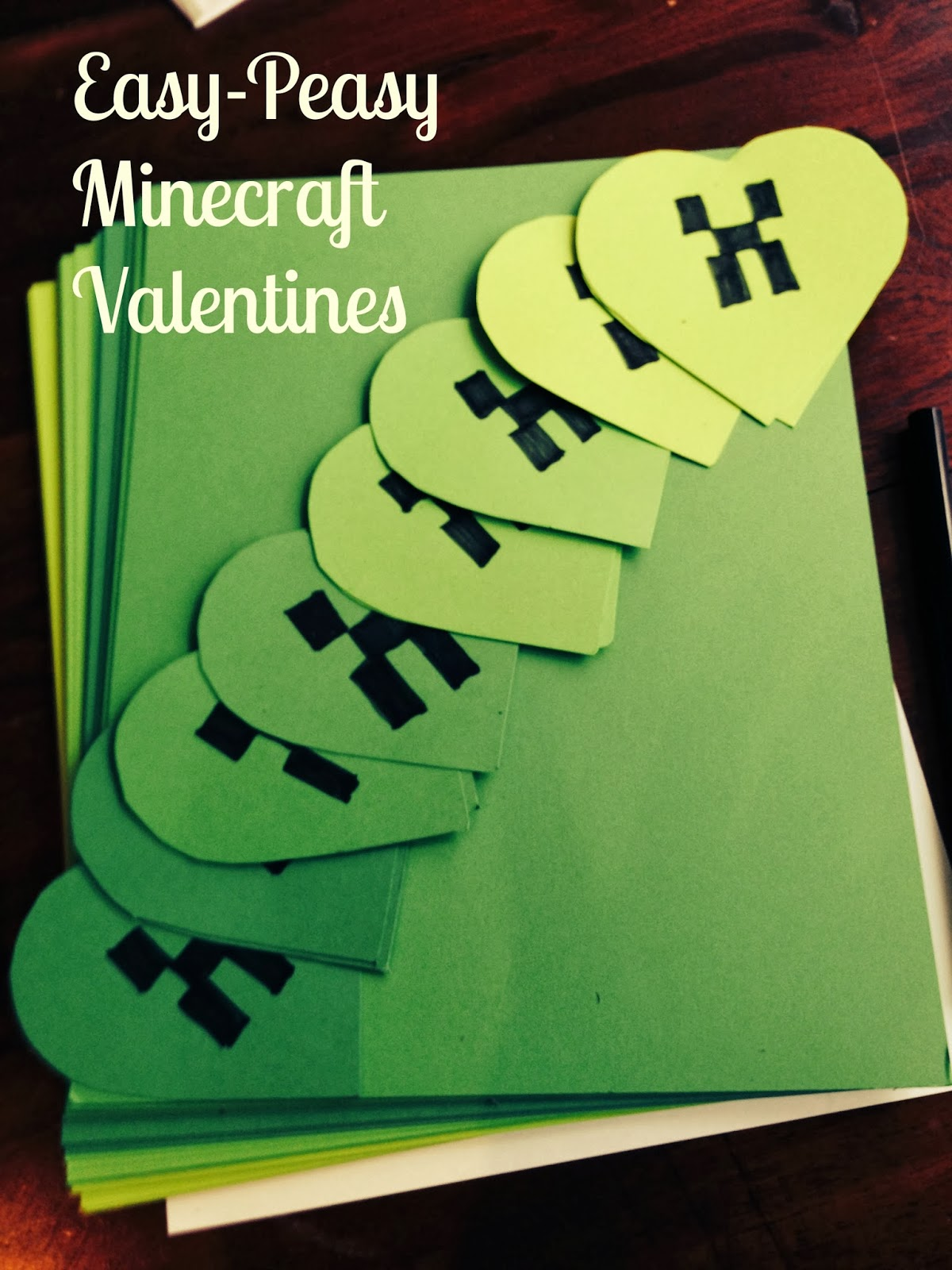 Easy Peasy And Fun: Blog: Easy-Peasy Minecraft Valentines