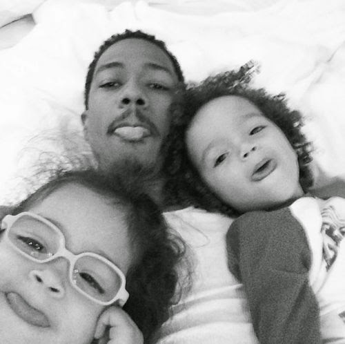 Nick Cannon and kids