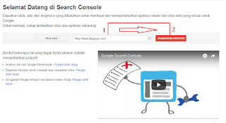 #Gambar 1 Cara Verifikasi Blog Ke Google Webmaster