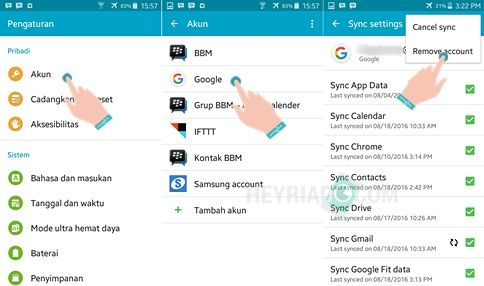 Cara Menghapus Akun Google Play Game Android