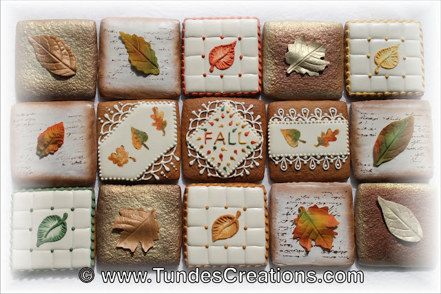 Fall cookie puzzle by Tunde Dugantsi