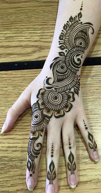 121 Simple Mehndi Designs For Hands Easy Henna Patterns