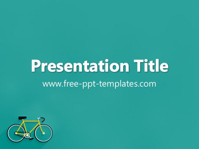 Bicycle PPT Template