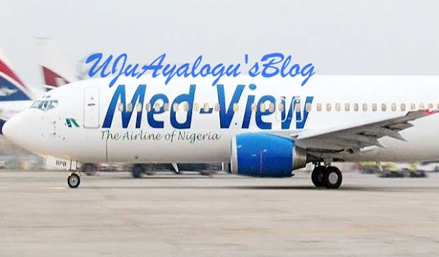 Tension as Med-View Airline Carrying 100 Passengers Grounded by Bird Strike in Maiduguri...Details