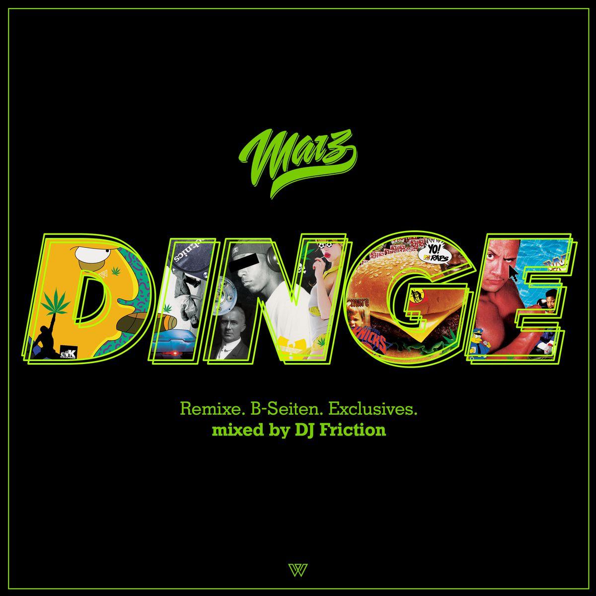 Das Dinge Tape mit Marz im Mixtape von DJ Friction | Mixtape des Tages