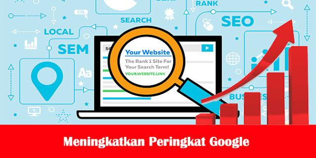 Cara Meningkatkan Peringkat Google