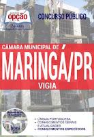 Apostila Câmara Maringá 2017 para VIGIA